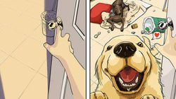 9 quadrinhos que provam que ter um cachorro muda TUDO