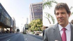 Haddad estuda fechar avenida Paulista aos