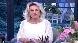 Após silêncio da Globo, Ana Maria Braga manifesta apoio a Ana