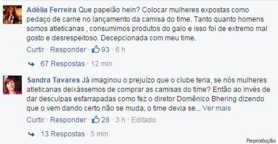 Torcedoras do Atlético-MG criticam machismo em lançamento de novo
