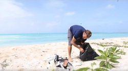 Família Shurmann chega a ilha deserta no Pacífico e dá de cara com...