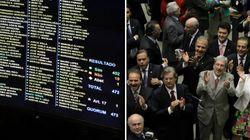 Câmara aprova impressão de voto e perda de mandato para quem se