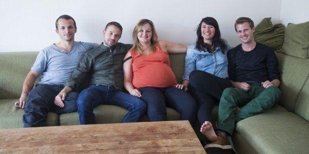 Estas cinco pessoas vão ter um bebê