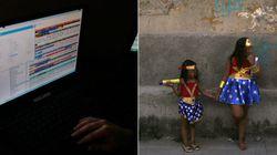 Vítimas de assédio sexual online têm idade média de 9,7 anos, diz