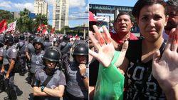 Violência marca protesto de grupos pró e contra Lula em