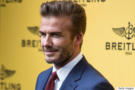 David Beckham é eleito o 'Homem Mais Sexy do Mundo' pela
