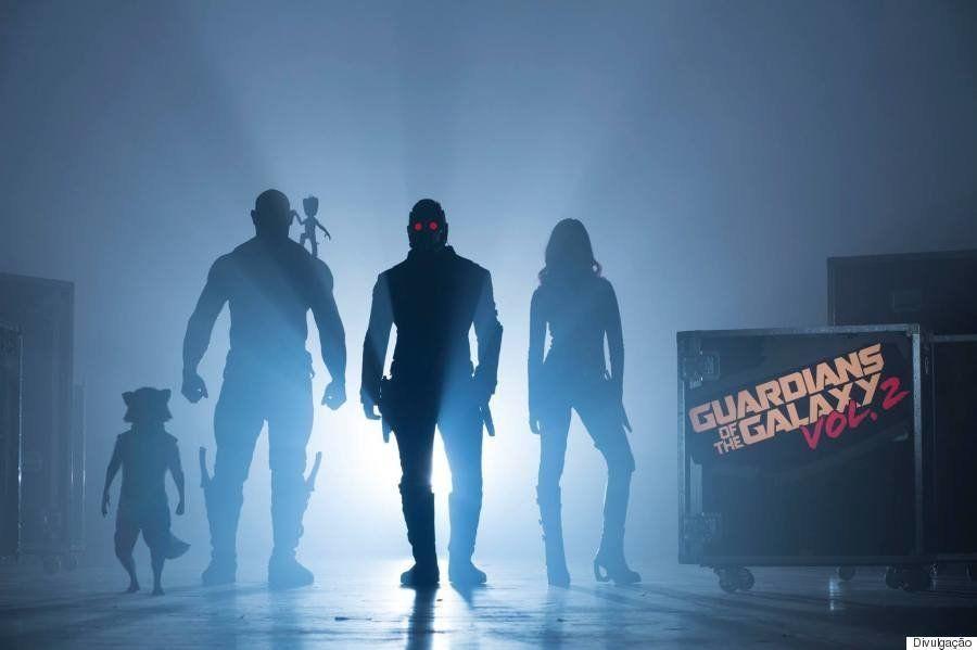 Começaram as filmagens de 'Guardiões da Galáxia Vol. 2'. E o diretor divulgou a primeira foto