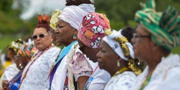 19 imagens que mostram a força e a grandeza da 1ª Marcha das Mulheres Negras no Brasil