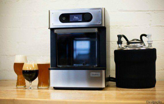 Pico Brewer, a máquina que promete melhorar sua vida como produtor de cervejas