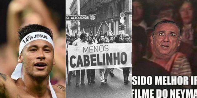 Brasil perde para a Colômbia em dia de péssimo futebol, expulsão de Neymar e muita zoeira da torcida...