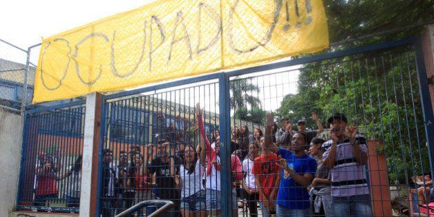Maior escola estadual de São Paulo é ocupada por