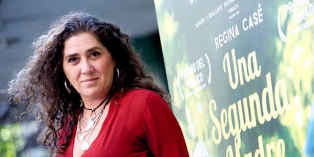 MADRID, SPAIN - JUNE 18: Anna Muylaert attends 'Una Segunda Madre' photocall at Princesa Cinema on June...
