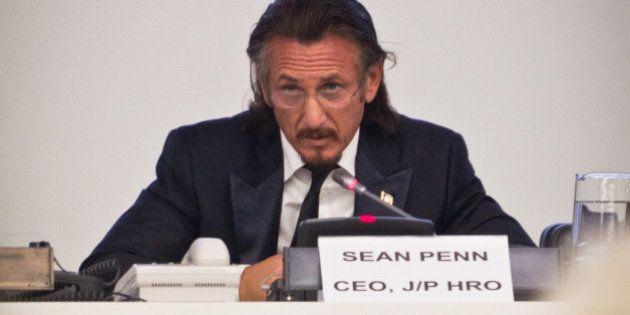Sean Penn at UNDP Meeting on Haiti. Photo: Africa Renewal / John
