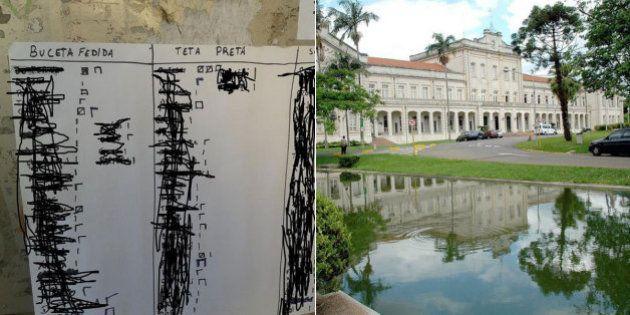 Cartaz com 'ranking sexual' de alunas reacende revolta na Esalq e traz de volta o histórico de trotes...
