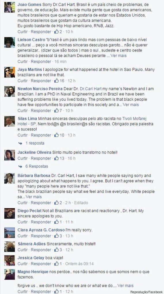 Negro e com dreadlocks, professor da Universidade de Columbia é alvo de segurança em hotel de São