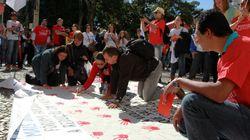 Professores lembram agressões da PM em manifestação no