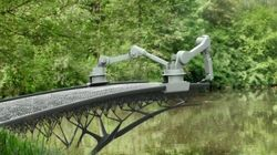 Este robô usa impressão 3d para construir