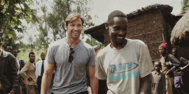 Hugh Jackman tenta mudar o rumo da pobreza global com sua marca de