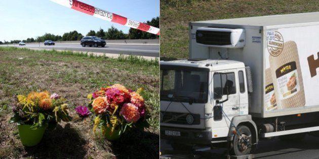 Polícia austríaca diz que 71 refugiados mortos em caminhão foram