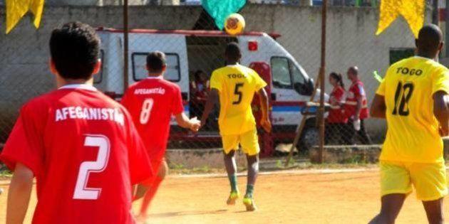 Haitianos, iraquianos, futebol e solidariedade. Vai rolar a 2ª Copa dos