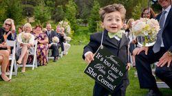 23 pequenos convidados de casamentos com grandes