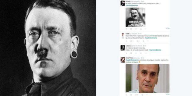 #DigaSimAoNasizmo: Hashtag ganha espaço no Twitter e provoca debate sobre os limites do humor nas redes