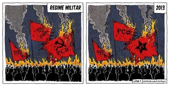 Traço e fúria: a arte política de Vitor