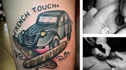 Franceses fazem tatuagens para nunca esquecer atentados em