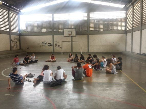 Aprendizagem entre pares na ocupação da escola Godofredo