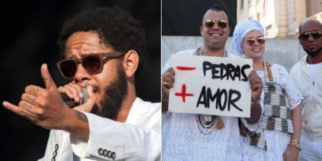 Rapper Emicida pede fim da intolerância e expõe realidade da periferia em show na Virada Cultural de...