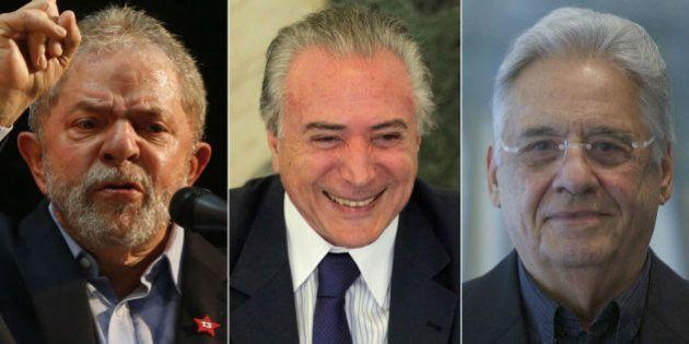 'Tem que juntar Lula, Temer e FHC numa sala e jogar a chave fora', diz Abilio
