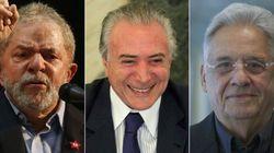 'Tem que juntar Lula, Temer e FHC numa sala e jogar a chave