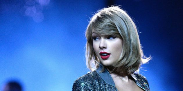 COLOGNE, GERMANY - JUNE 19: Taylor Swift performs during 'The 1989 World Tour' night 1 at Lanxess Arena...