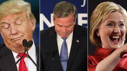 Eleições EUA: Clinton e Trump triunfam em 'dia do adeus' de Jeb