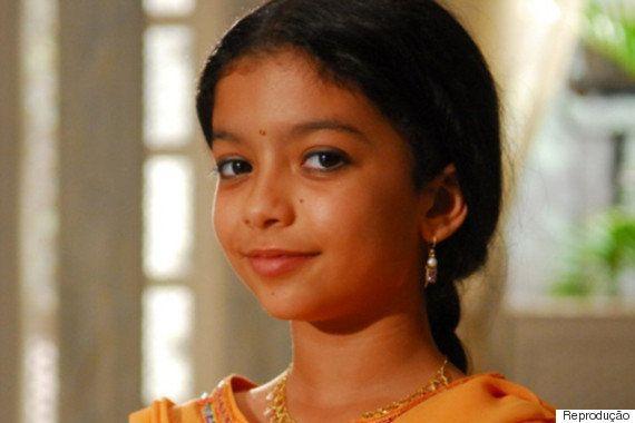 Karina Ferrari, a Anusha de 'Caminho das Índias', aparece completamente diferente