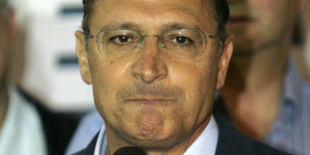 Former Sao Paulo Gov. Geraldo Alckmin concedes the presidential election to Brazil's President Luiz Inacio...