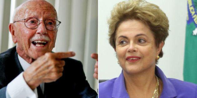 Hélio Bicudo, fundador do PT, protocola pedido de impeachment de Dilma na