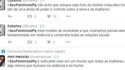 A hashtag #SouFeministaPq manda a real sobre a importância do