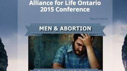 Fui a uma conferência bizarra sobre como o aborto afeta os