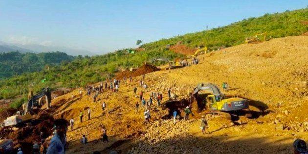 Tragédia: Deslizamento de terra em mina de jade mata mais de 100 em