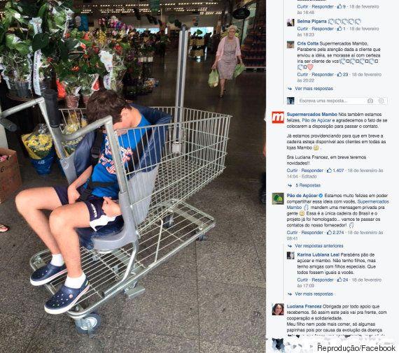 Mãe questiona supermercado por mais acessibilidade e recebe apoio nas redes