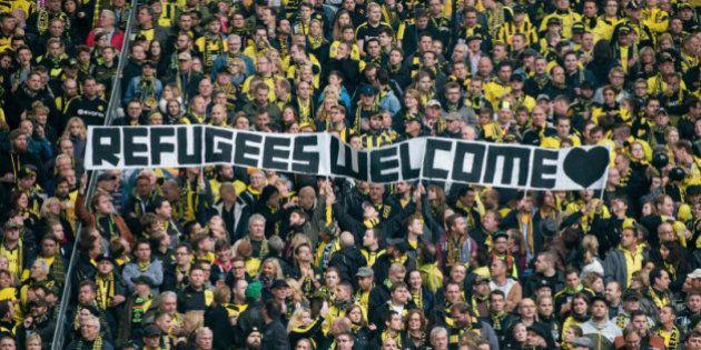 Crise migratória? Torcidas alemãs mostram que o futebol pode abraçar os