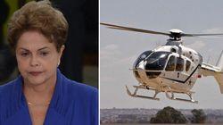 Crise!? Dilma não abre mão do helicóptero para fazer trajeto de cinco
