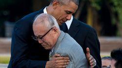 Em Hiroshima, Obama abraça sobrevivente e pede 'mundo sem armas