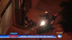 ASSISTA: PM abre fogo contra suspeitos de roubo ao vivo na
