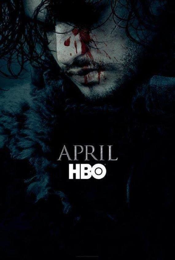 'Game of Thrones': Jon Snow aparece em poster da 6ª temporada da
