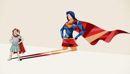 Artista captura o herói dentro de cada criança com série de