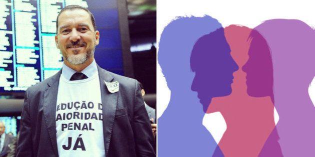 Pastor da Universal, deputado Vinícius Carvalho apresenta projeto para vetar qualquer união poliafetiva...