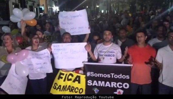 Movimento 'Fica Samarco': Justiça pra