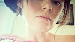 Ela postou uma foto de menstruação e foi aconselhada a se